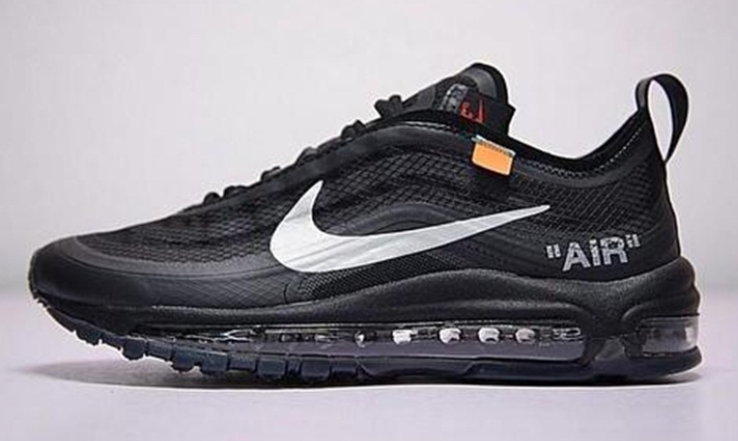 "off-white x nike air max 97 ""black""发售信息 OW联名耐克air max 97 ""black""上脚好看吗"