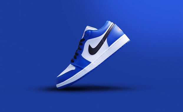 "Air Jordan 1 Low ""Hyper Royal"" 货号:553558-401"