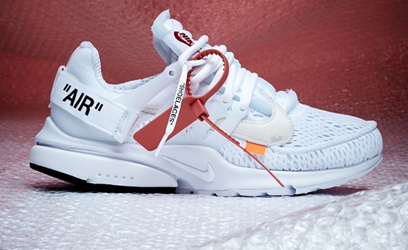 "OFF-WHITE x Nike Air Presto ""White"" 货号:AA3830-100"
