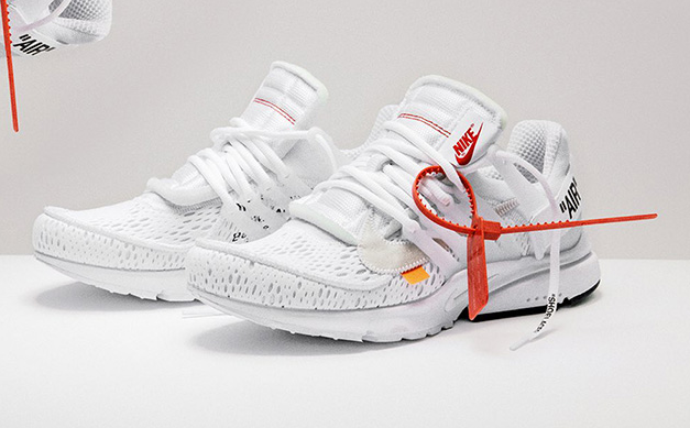 "OFF-WHITE x Air Presto ""White"" 货号:AA3830-100"